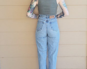 RARE Vintage Timberland High Waisted Skinny Leg 90's Mom Jeans // Women's size 26