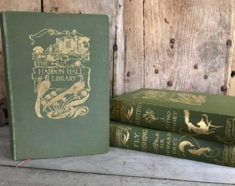 1900 Hunting, The Haddon Hall Library London, by J Otho Paget, Rare Hardcover Book, Classic, Illustrations, Huntsman, Fox Hunting