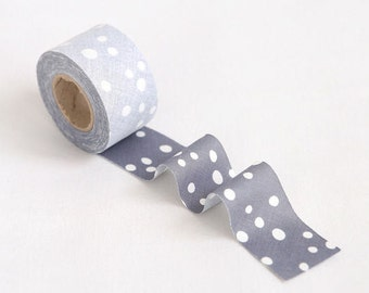 Simple Bubble Grey 4 cm Cotton Bias - 10 Yards by the roll 94392