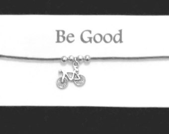 ET Friendship BRACELET on waxed cotton cord Or Silver Plated Key Ring Or Silver Plated Necklace Or Black Velveteen Choker