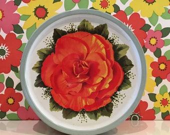 Retro Red Rose Tin Vintage John Mackintosh & Sons