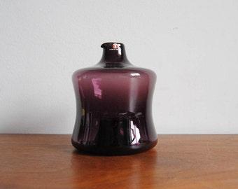 Timo Sarpaneva Stacking Bottle i-series iittala Purple