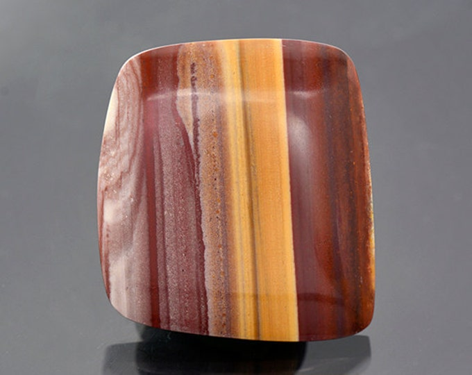 FLASH SALE Beautiful Banded Rhyolite Cabochon from New Mexico 48.85 cts.