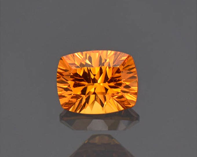 Bright Orange Spessartine Garnet Gemstone from Nigeria 1.41 cts.