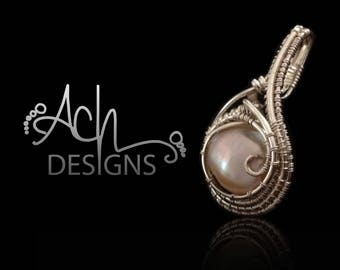Pearl .925 Sterling Silver Pendant