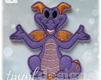 Purple Imagination Dragon Slider Digital Design File