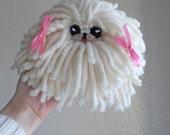 Pekingese, Pekinese, kawaii dog, cute dog, kawaii toy, peke, pékinois, pekinés, pequinês, small toy, soft toy, IVORY COLOR , beige mask