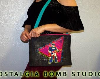 G1 Transformers Soundwave - Superior 84 - zipper sling tote bag