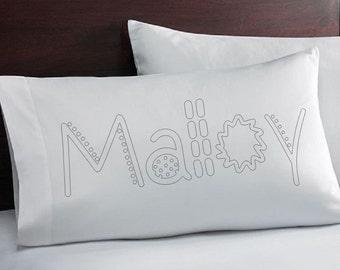 Pillowcase that YOU Color - Coloring Pillowcase - Coloring Pillowcase