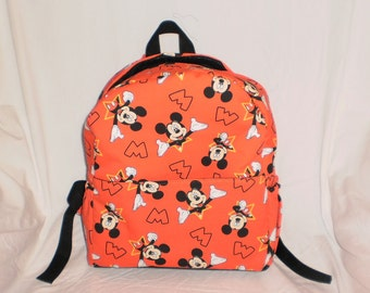 Child's Mickey Mouse backpack