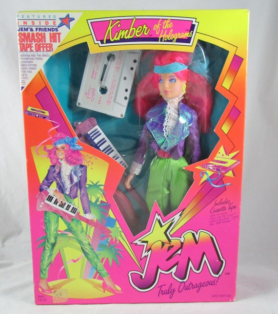Kimber Of Jem And The Holograms NRFB 2nd Issue New Rare Hasbro