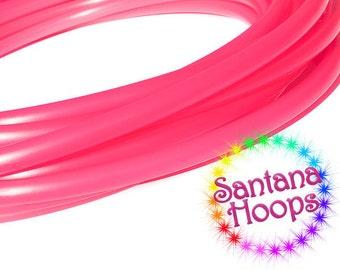 5/8 Mini Twins  UV  Pink Sapphire Polypro Hula Hoop Minis