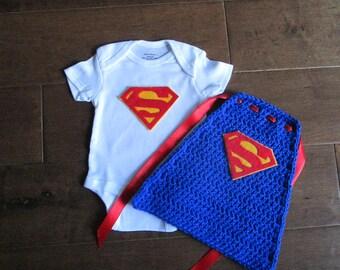 newborn super hero outfit, super hero costume, newborn superman cape, superman outfit
