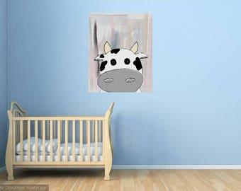 Nursery Calf digital art print