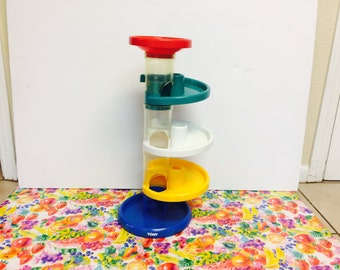 Tomy Ball Drop Toy Educational Stacking Colorful Interactive Toy by Tomy 1995