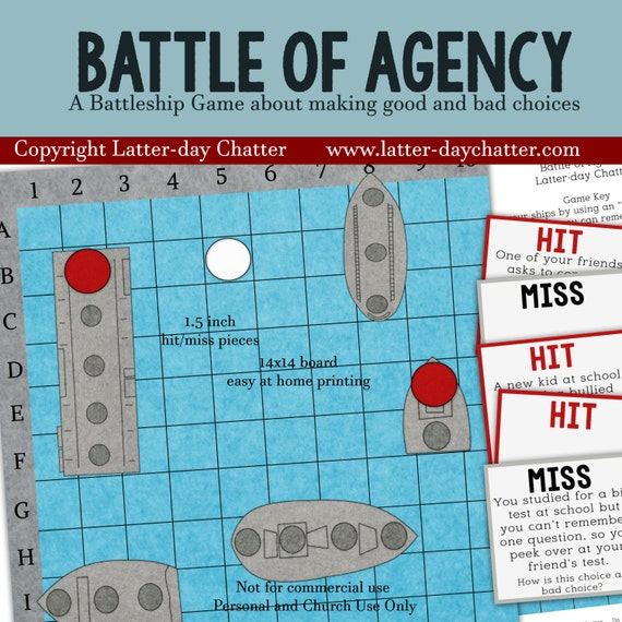 NEW: Battle for Agency -Battleship Game