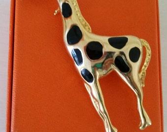 Vintage Giraffe Pin