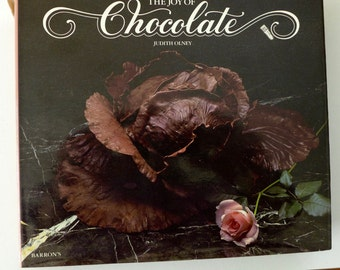 The Joy of Chocolate, Judith Olney, 1982 Vintage Cookbook, Chocolate Recipes
