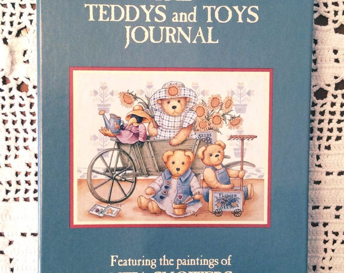 Lang Companies 1994 TEDDYS and TOYS JOURNAL Artist Nita Showers Teddy Bears Vintage