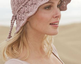 Crochet hat, cotton cap, woman accessory, summer hat. Handmade. CHOOSE COLOR and SIZE.