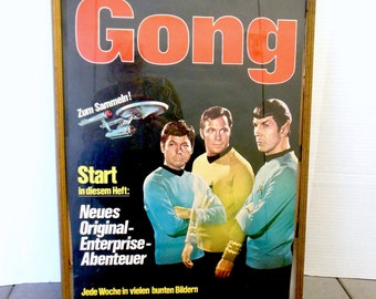 Star Trek Poster German Super Scarce