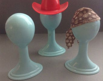 Liv Doll Wig Stands, fashion doll accessories, 3 wig stands, doll wig, Liv Doll accessories, doll hat stand, Greece