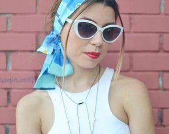 Boho Head Scarf, Bohemian Headband, Accessories, Retro Head Scarf, Womens Accessories, Womens Turbans, Womens Headband, Vintage Headbands