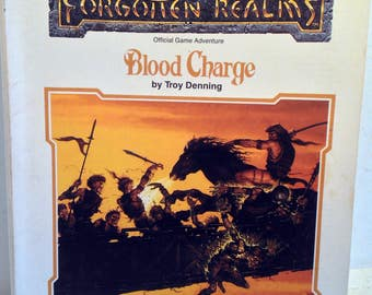 Advanced Dungeons & Dragons 2nd Ed. Game Adventure: Blood Charge, 9304 (3955)