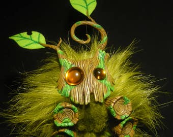 "Little Rootling - fantastic handmade Forestspirit Artdoll - ""Made to Order"""