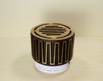 Portable Bluetooth Speaker - Enhanced Wooden Speaker - Retro / Vintage Style