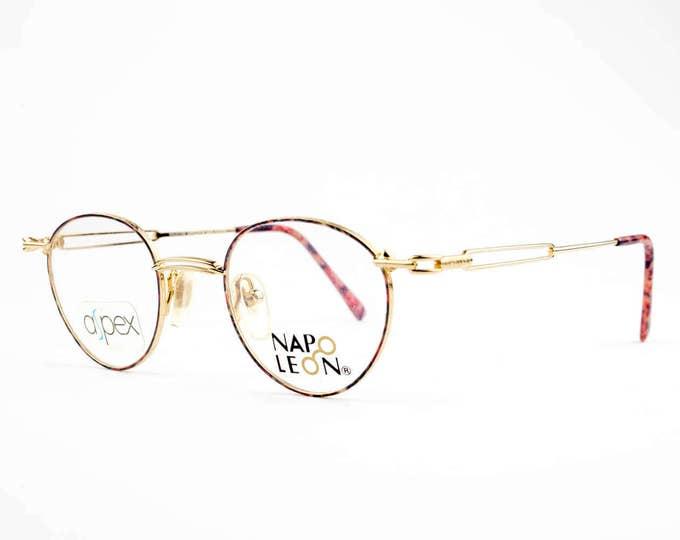 Vintage 90s Eyeglasses   Round Glasses   NOS 1990s Eyeglass Frame   Deadstock Eyewear - NP916
