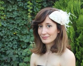 Bride Fascinator