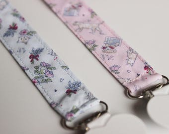 Cat Dog Soothie Pacifier Clip, Baby pacifier clip, Binky Clip, Paci Clip, Pacifier holder, pacifier clip boy, soothie pacifier clip girl