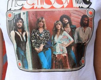 Vintage Fleetwood Mac Tee / 1970s / Rock N Roll