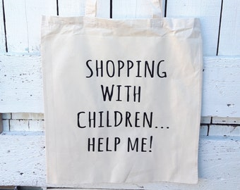 Shoppjng with children...help me!!Cotton bag,shopper,tote bag