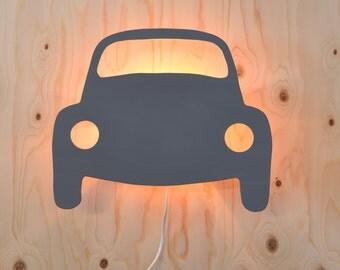 Retro Classic VW Volkswagen Beetle wall lamp
