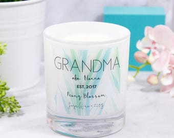 Grandma Mother's Day Scented Candle - Grandma Candle - Mothers Day Gift for Grandma - Mothers Day Gift  - Scented candle for mum