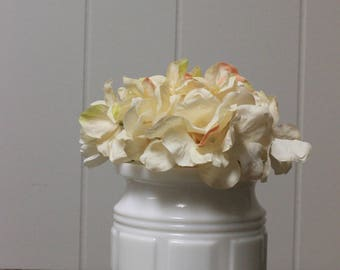 Milk Glass Planter, Milk Glass Vase