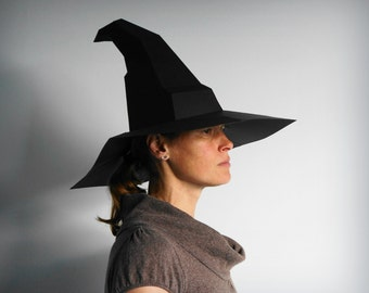 Magic Hat - Make a Witch's or Wizard's Hat with this simple PDF template