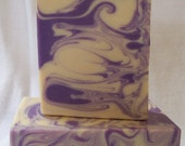 Luxurious Lavender Goat's Milk Soap-Cold Process Handmade Soap Scented With Natural Lavender Essential Oil