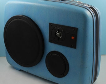 Custom Speakers - Vintage Suitcase BoomBoxes