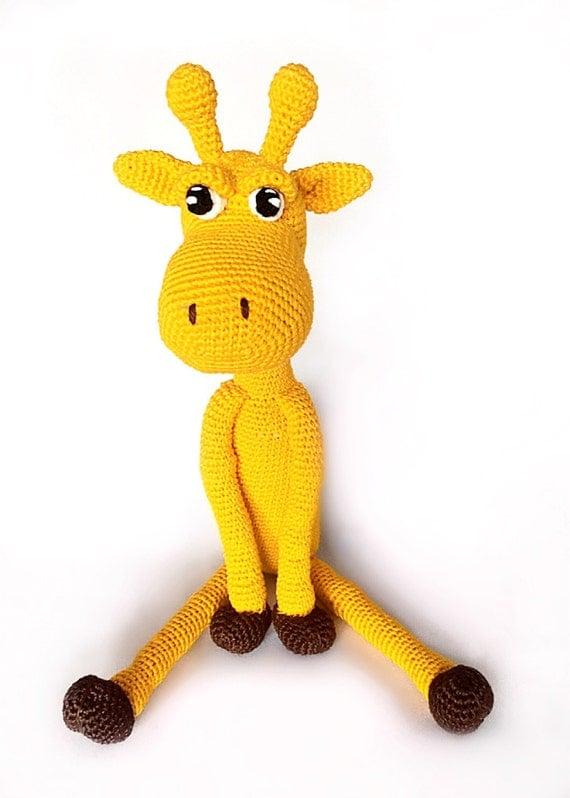 Amigurumi Giraffe Kostenlos : Giraffe amigurumi PDF crochet pattern in Dutch Deutsch