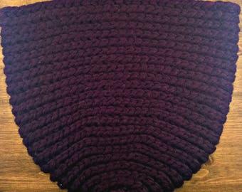 Handmade Crochet Hanging Basket