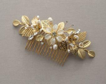 MARIELLA - Bridal Comb, Wedding headpiece, Bridal Headpiece, Wedding Comb,