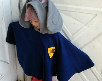 Bunny hopps Cop poncho for baby/toddler/ kids/ Adult