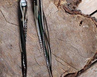 Feather Earrings #05