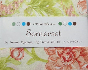 Somerset Charm Pack 42, 5-inch squares by Fig Tree & Co. for Moda Charm Pack Sale Quilter's Cotton