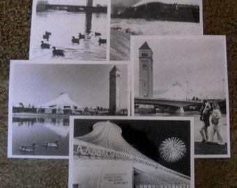Spokane Expo 74 Official Black and White Photographs