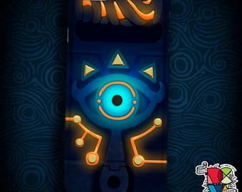 Sheikah Slate Phone Case | Legend of Zelda Phone Case | Breath of the Wild Phone Case | Glowing Look Case | iPhone and Galaxy Cases