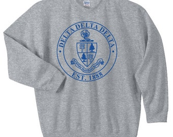 Delta Delta Delta Crest Sweatshirt